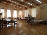広くて清潔な治療室
